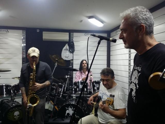 Tony, Joaquín, Salva y Fernando.