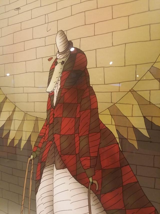 El cocodrilo ciego, uno de los personajes del universo de Xan López Domínguez.