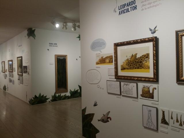 La exposición, en el museo ABC