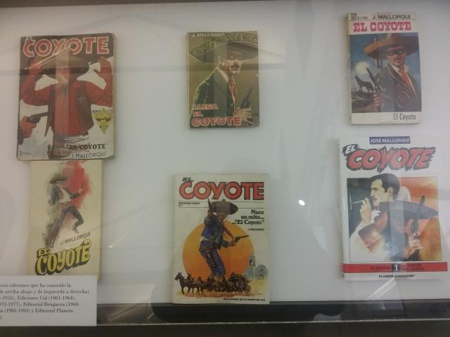 """Ejemplares de """"El Coyote""""."""