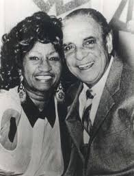 Billo junto a Celia Cruz.